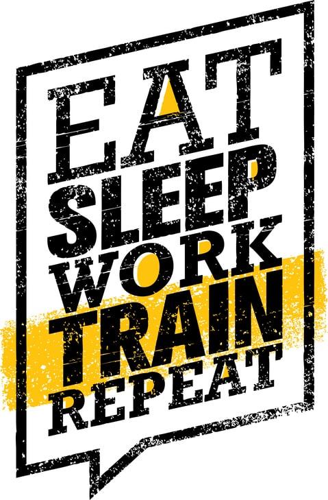 Fórmula básica do crescimento muscular: Comer, dormir, treinar e repetir