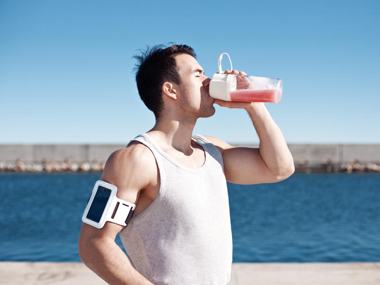 Whey protein pós treino