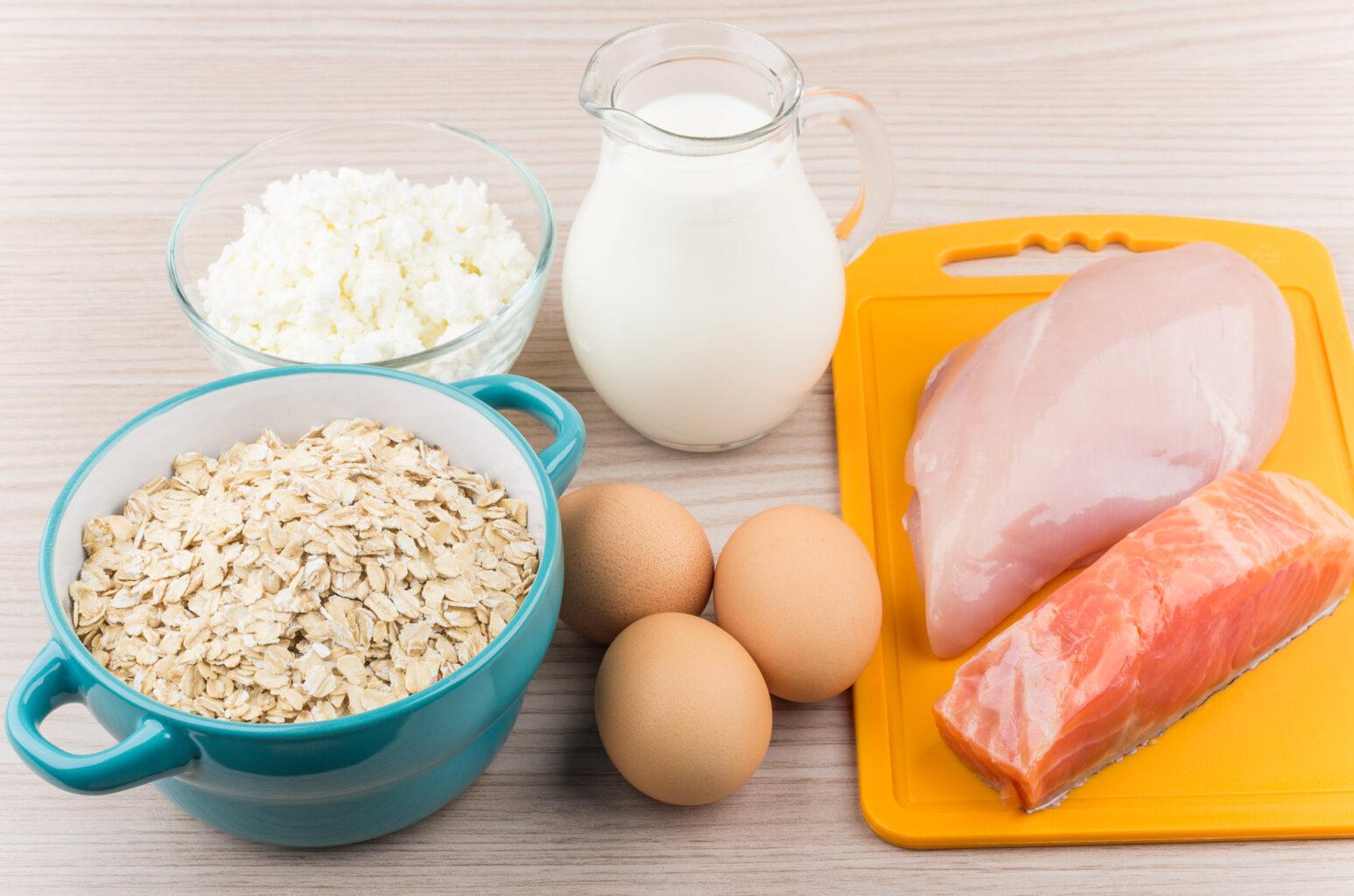 alimentos que impulsionam o ganho de massa muscular