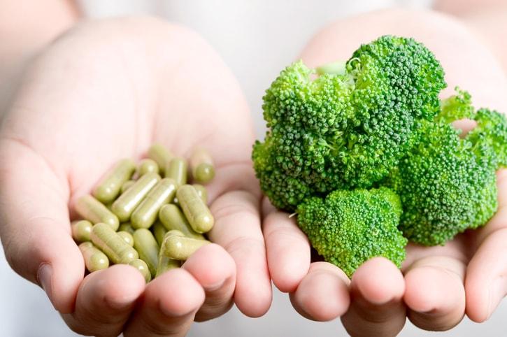 Suplementos para complementar as necessidades nutritivas
