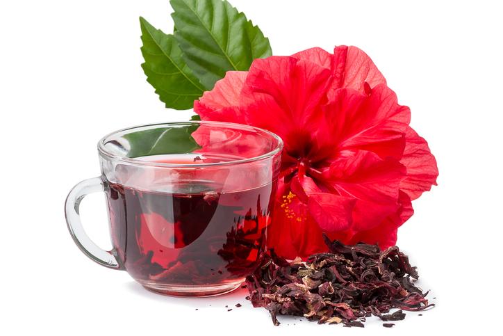 Chá de Hibisco - termogênicos naturais
