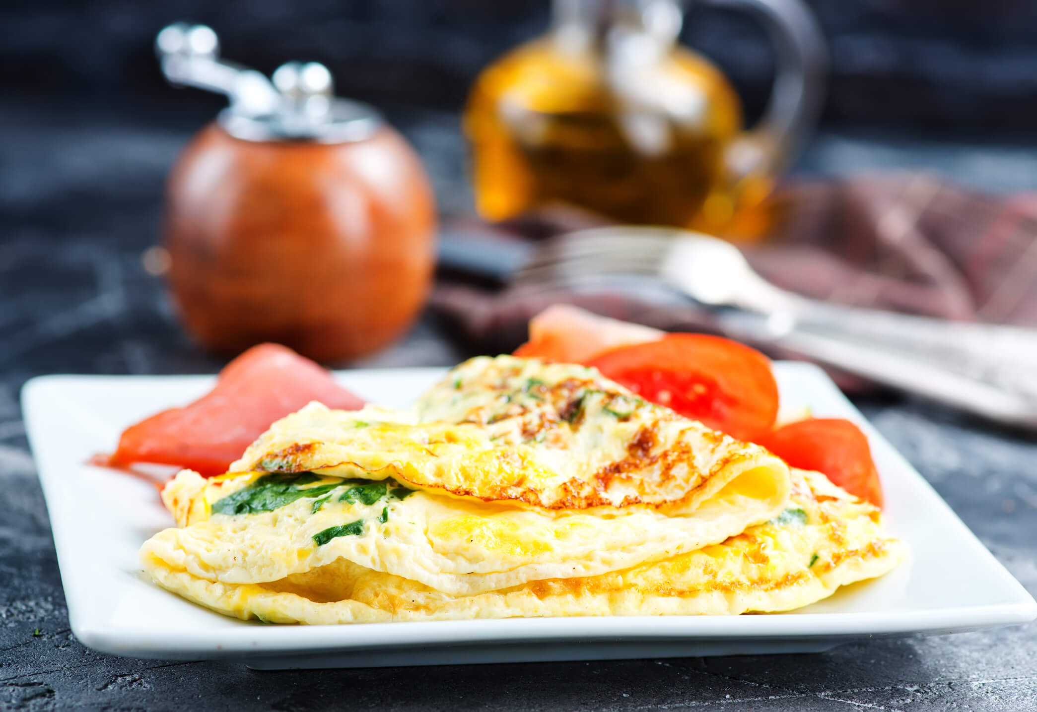 Receita low carb: Omelete