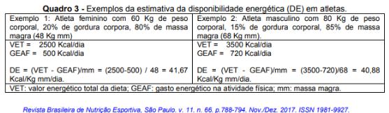 Equação de estimativa de energia